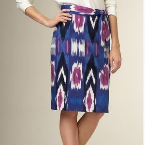 Talbots Ikat Pencil Skirt